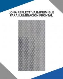 Lona reflectiva para impresión digital con acabado reflejante