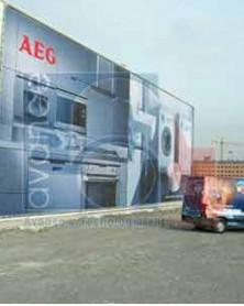 Lona promodigital max mate de impresión digital para banners publicitarios