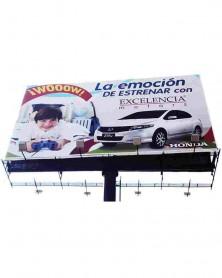 Lona promodigital pro-2 de impresión digital para Campañas publicitarias