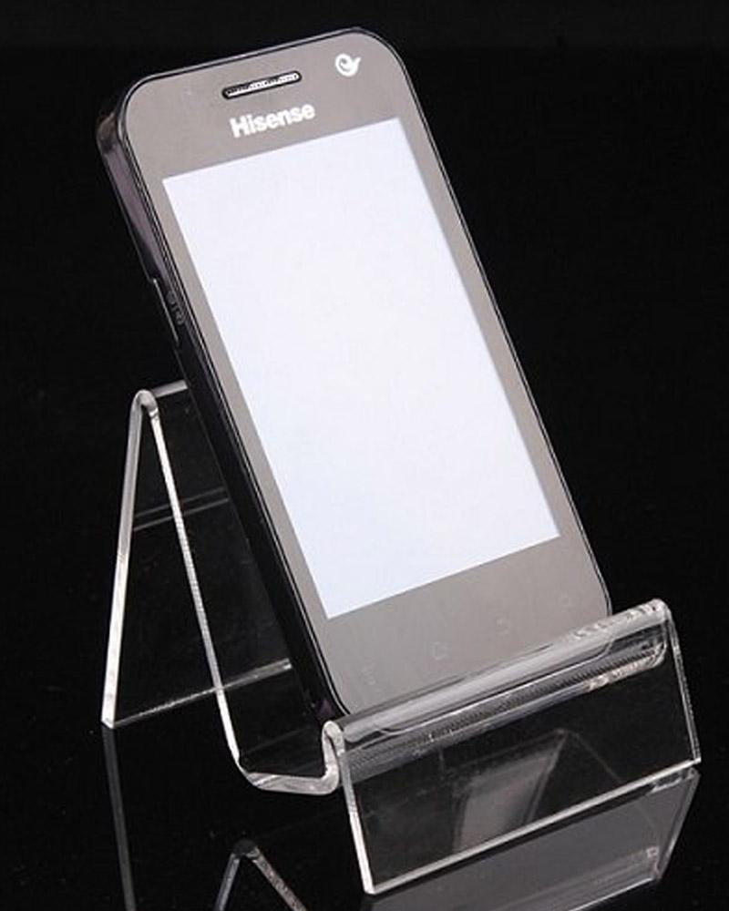 Acrílico extruído para porta celulares