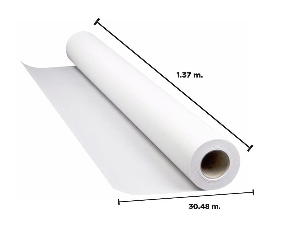 Acotaciones del papel sintético imprimible látex Synaps