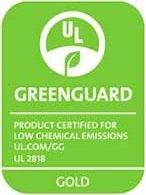 certificación Dorada GREENGUARD