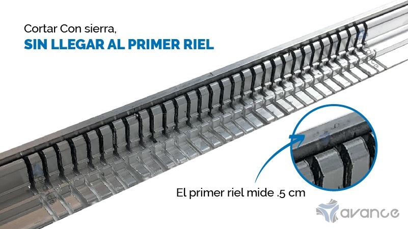 marco de aluminio