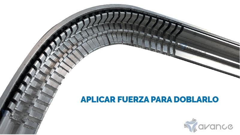 perfil de aluminio para marcos de cuadros